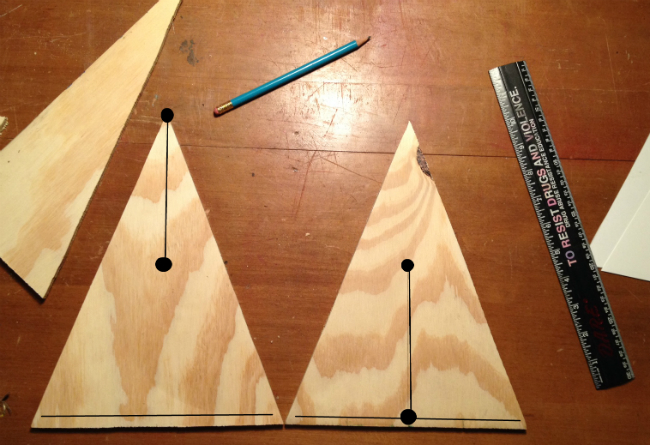 Step 4_DIY Plywood Christmas Tree