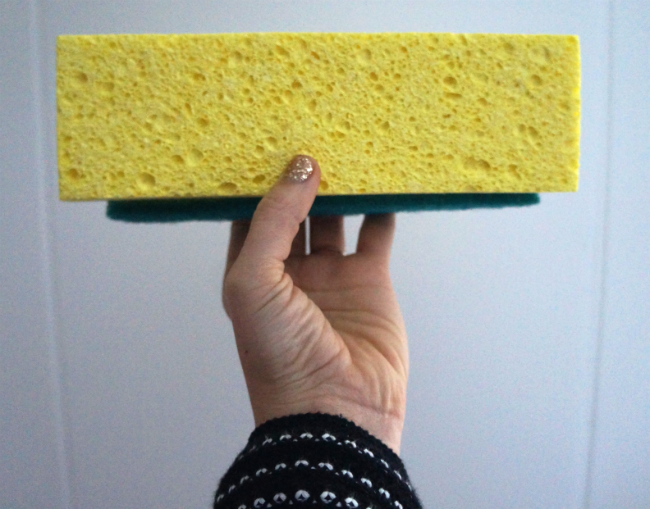 Sponge_DIY Mini Cheesehead