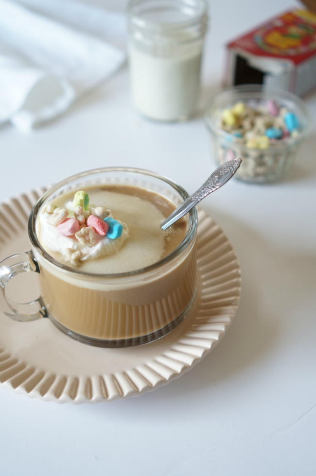 Lucky Charms Latte Recipe