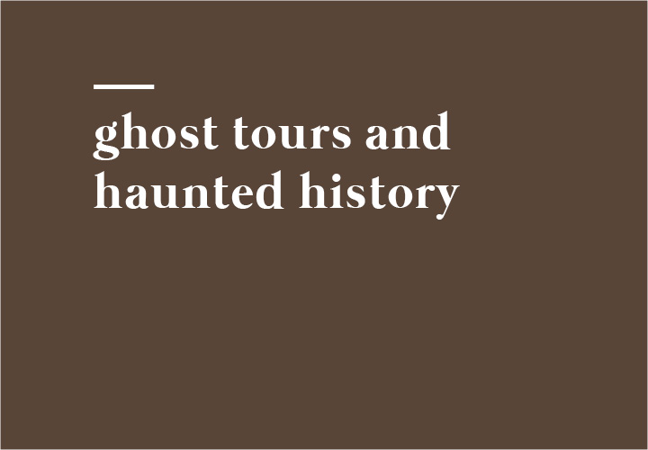 A complete list of ghost tours and haunted history tours throughout Minnesota.